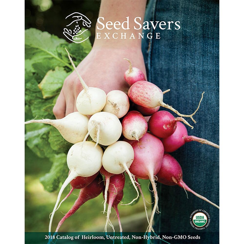 the 2018 Seed Savers Exchange catalog! It's headed to mailboxes in December. Will it…