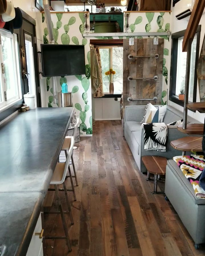 Let's take a tour of our Tiny House! Here is everything we could cram…