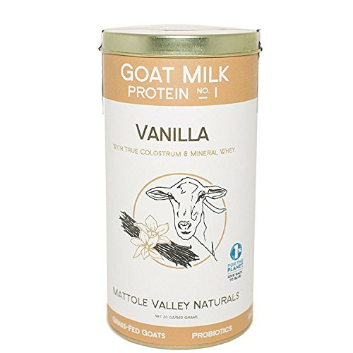 Vanilla Goat Milk Protein – Improved Performance & Decreased Recovery Time – Stimulates Body's Vitality – Maintaining Youth & Lean Body Mass (no. 1, vanilla)