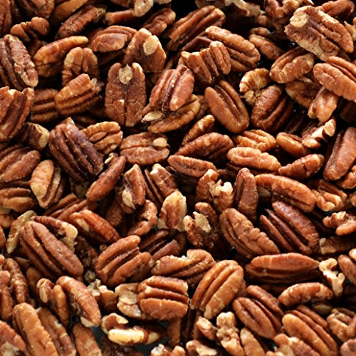 Native Pecan Halves, Family Recipe Crispy, Soaked and Dried with Sea Salt, Bulk 5 Lb.