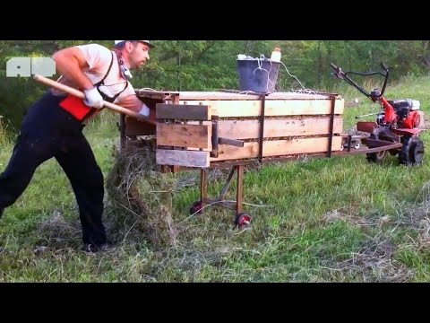 Amazing Homemade Inventions  2016 #21★ Farm Tools P2 (Grass Packing Machines)