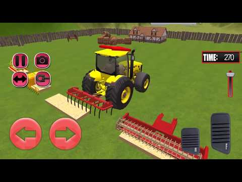 Tractor Farming Tools Simulation 3D